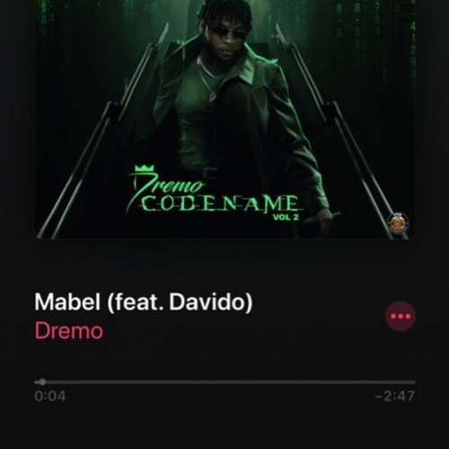 Dremo – Mabel Ft. Davido [Mp3 Download]