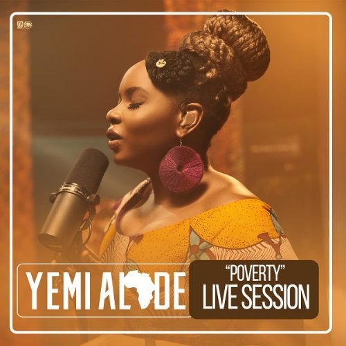 [Video] Yemi Alade – Poverty (Live Session]